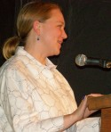 Deborah Poe reads at the Richard Hugo House, Jan 2009